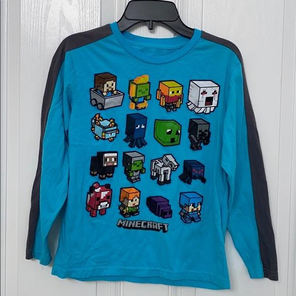 Minecraft long sleeve shirt